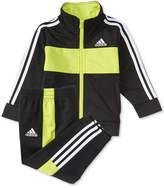adidas 2-Pc. Team Tricot Jacket & Pants Set, Little Boys