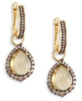 Annoushka Diamond & Olive Quartz Drops