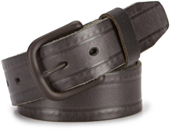 Daniel Cremieux Hidden Stitch Leather Belt