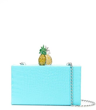 Edie Parker Pineapple clutch
