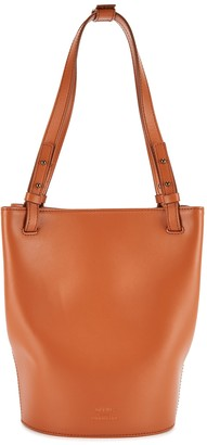 Eudon Choi Aaron Brown Leather Bucket Bag