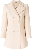 Chloé double breasted coat - women - Silk/Acetate/Virgin Wool - 38