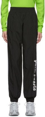 Palm Angels Black Logo Over Track Pants