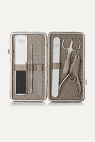 Margaret Dabbs London - Leather-bound Manicure & Pedicure Set - Colorless