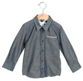 Little Marc Jacobs Boys' Long Sleeve Button-Up Shirt w/ Tags