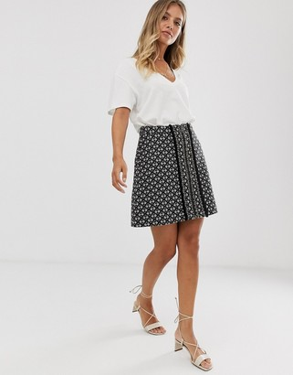 Sass & Bide Boucle mini skirt