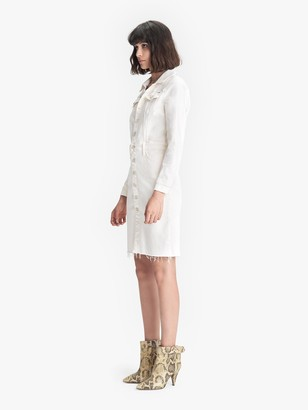 Mother The Cover Up Knee Fray - Cream Puffs
