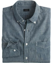 J.Crew Slim indigo Japanese chambray shirt