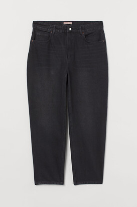 H&M H&M+ Tapered High Jeans - Gray