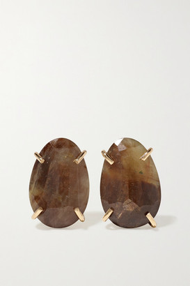 Melissa Joy Manning 14-karat Gold Sapphire Earrings - one size