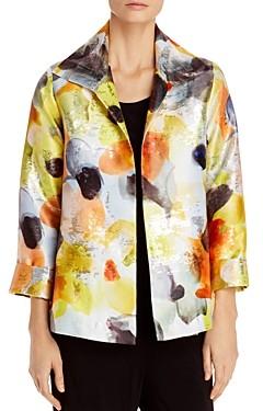 Caroline Rose Under the Sun Jacquard A-Line Jacket