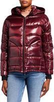 49 Winters Boxy Down Jacket, Red