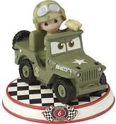 Precious Moments 164436 Sarge Resin Figurine Cars Collection 6 Disney Pixar Showcase, Multicolor