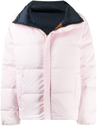 Tory Burch Colour-Block Down Jacket