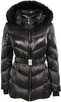 Versace Fur Trimmed Padded Jacket