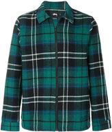 Stussy checked shirt jacket
