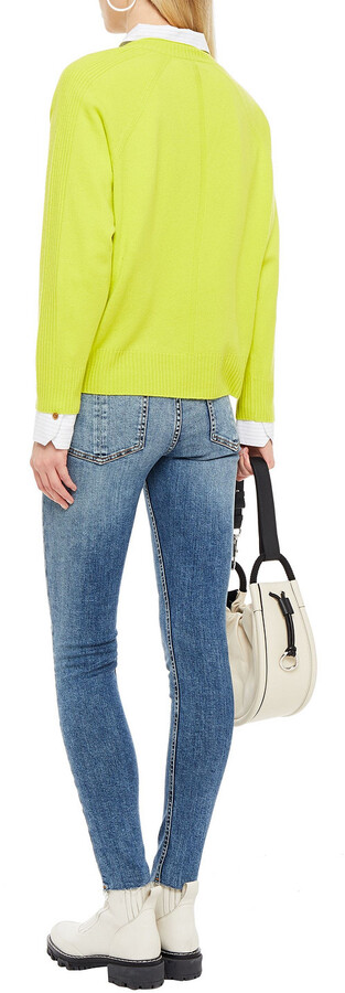 Thumbnail for your product : Rag & Bone Kate Distressed Mid-rise Skinny Jeans
