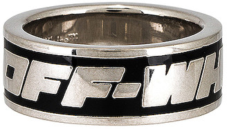 Off-White 2.0 Industrial Ring in Black | FWRD