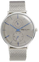 Kenneth Cole New York Chronograph Stainless Steel Mesh Bracelet Watch