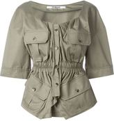 Chalayan military blouse - women - Cotton - 40