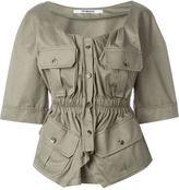 Chalayan military blouse - women - Cotton - 42