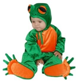 BuySeasons Big Boys and Girls Little Frog Costume
