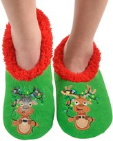 Snoozies Womens Ugly Christmas Collection Holiday Slipper Socks