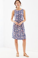 J. Jill Paisley Tiered-Hem Knit Dress