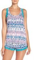Honeydew Intimates Lace & Jersey Short Pajamas