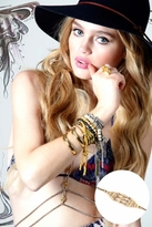 Vanessa Mooney Afar From This World Bracelet in Gold