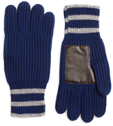 Brooks Brothers Tipped Cashmere Gloves