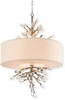John-Richard Collection Budding Crystal 4-Light Pendant