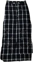 Amiri Grey Cotton Skirt for Women