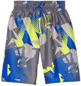 Nike Graffiti Print Swim Trunk - Boys 8-20