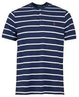 Polo Ralph Lauren Custom Slim Fit Striped Henley T-shirt Colour: NAVY,