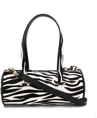Les Petits Joueurs zebra print top handle mini bag