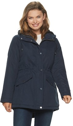 Details Women's Hooded Anorak Parka