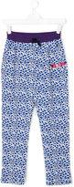 Kenzo printed trousers