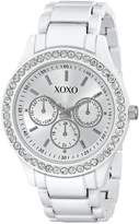 XOXO Women's Bracelet With Rhinestones Accent Watch XO5408