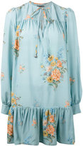 Alexander McQueen floral dress - women - Silk - 36