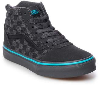 Vans Ward Hi Flannel Boys' Skate Shoes