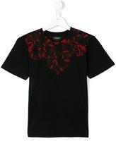 Marcelo Burlon County Of Milan Kids - snake print T-shirt - kids - Cotton - 2 yrs