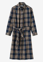 Toast Indigo Check Shirt Dress