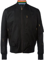 Paul Smith bomber jacket - men - Cotton/Cupro/Polyamide - M