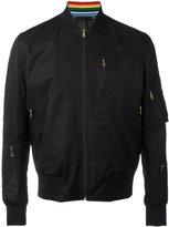 Paul Smith bomber jacket - men - Cotton/Polyamide/Cupro - M