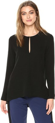 Theory Women's Long Sleeve Slit Front Tunic