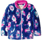 Hatley Happy Owls Fuzzy Fleece Mock Neck (Toddler/Little Kids/Big Kids)