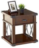 Progressive Landmark End Table - Vintage Ash Furniture