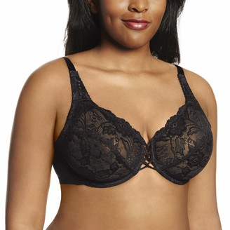 Lunaire Women's Plus-Size Wales Full Coverage Plunge Lace Bra