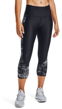 Under Armour HeatGear Compression High-Rise Capri Leggings